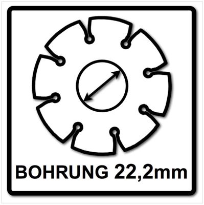 Bosch Disque Carbide Multiwheel Ø 125 mm ( 2608623013 ) – Bild 5