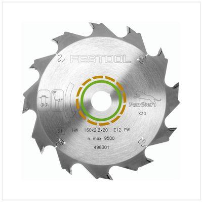 Festool TS 55 REBQ-PLUS Scie plongeante 1200 Watt avec boîtier Systainer ( 561551 ) + 2x Festool Panther Lame de scie HW 160x2,2x20 PW12 ( 496301 ) – Bild 5