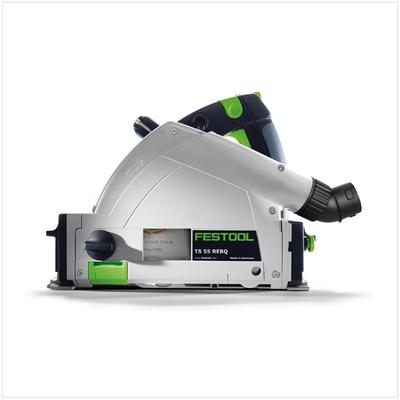 Festool TS 55 REBQ-PLUS Tauchsäge 1200W 160mm im Systainer ( 561551 ) + 3x Kreissägeblatt HW – Bild 3