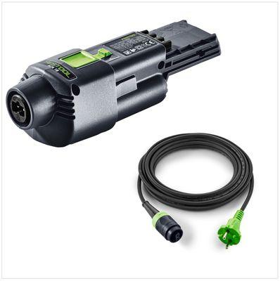 Festool Adaptateur secteur ACA 220-240/18V Ergo avec câble de 4 m pour Ponceuse hybride RTSC 400, DTSC 400, ETSC 125 ( 202501 ) – Bild 2