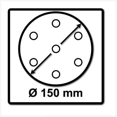 Festool Schleifteller ST-STF D150/MJ2-FX-SW 150 mm FastFix superweich ( 202462 ) - neue Version von ( 496144 ) – Bild 3