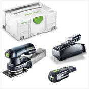 Festool RTSC 400 Li 3,1-Plus Akku Rutscher 18V ( 576897 ) Einhandschleifer Brushless im Systainer + 2x 3,1Ah Akku + Ladegerät