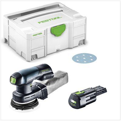 Festool ETSC 125 18V Ponceuse excentrique hybride sans fil 125mm + Boîtier Systainer + 1x Batterie BP 18 Li 3,1 Ah - sans Chargeur – Bild 2
