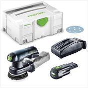 Festool ETSC 125 Akku Exzenterschleifer ( 201533 ) 18V 125mm brushless + 1x Akku 3,1Ah + Ladegerät + Systainer