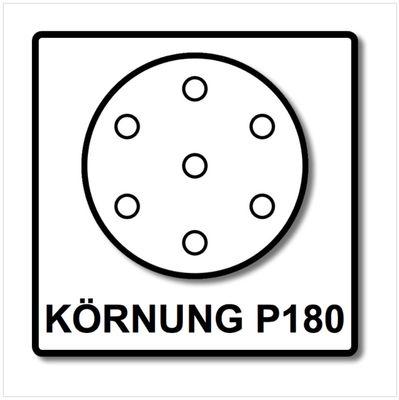 Festool NetzschleifmittelSTF D125 P180 GR NET/50 125 mm / 50 Stk. ( 203298 ) – Bild 4