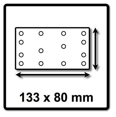 Festool Abrasifs maillé  STF 80x133 P80 Granat Net/50 50 Pièces. ( 203285 ) – Bild 3