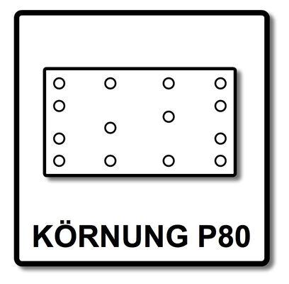 Festool Abrasifs maillé  STF 80x133 P80 Granat Net/50 50 Pièces. ( 203285 ) – Bild 4