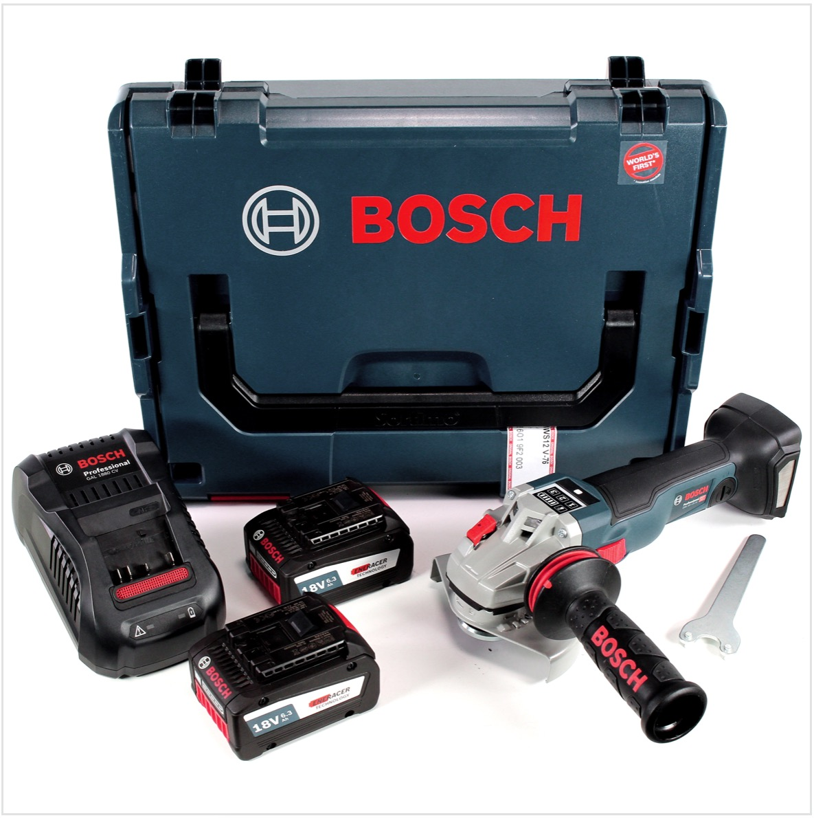 bosch gws 18 v 125 sc pro winkelschleifer 125mm brushless. Black Bedroom Furniture Sets. Home Design Ideas
