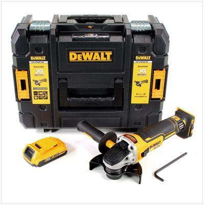 DeWalt DCG 405 18 V 125 mm Meuleuse sans fil Brushless avec boîtier TStak + 1x Batterie 2 Ah - sans Chargeur – Bild 2