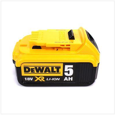 DeWalt DCG 405 18 V 125 mm Brushless Akku Winkelschleifer + 1 x 5 Ah Akku im TStak Werkzeugkoffer – Bild 5