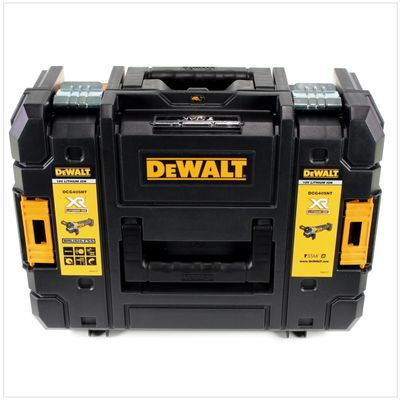 DeWalt DCG 405 D2 Akku Winkelschleifer 18V 125mm Brushless + 2x Akku 2,0Ah + Ladegerät + TSTAK – Bild 4