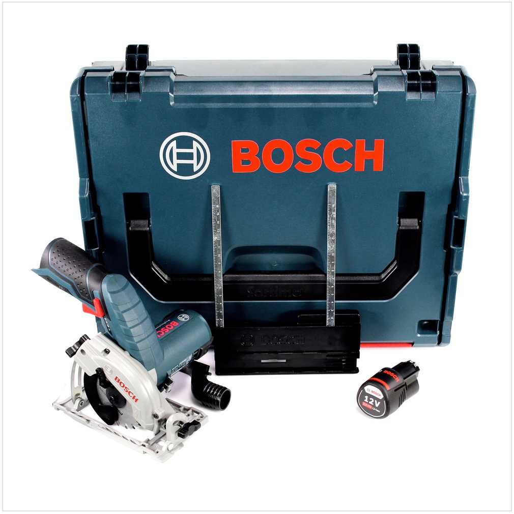 bosch gks 12v 26 professional akku hand kreiss ge 85mm in l boxx 1x gba 3 0 ah akku ohne. Black Bedroom Furniture Sets. Home Design Ideas