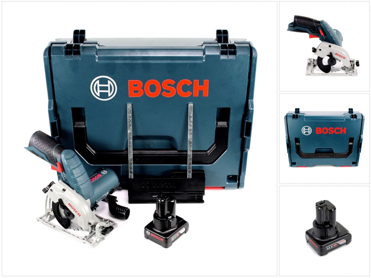bosch gks 12v 26 professional akku hand kreiss ge 85mm l boxx 1x 6 0 ah akku ebay. Black Bedroom Furniture Sets. Home Design Ideas