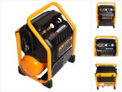 Bostitch RC10SQ-E Baustellen Kompressor 9,4 Liter / 1,5 PS / 13,78 Bar / 230 V extrem leise
