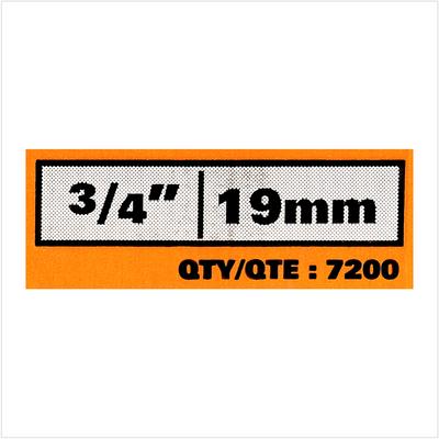 """Bostitch CR19GAL Clous rouleaux galvanisés spécial bardeau 3.05 x 19 mm GAL8 7.2M 3/4"""" - 7200 Clous – Bild 4"""