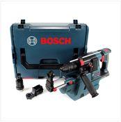 Bosch GBH 18 V-26 F Perforateur sans fil Professional SDS-Plus avec Boîtier de transport L-Boxx + Collecteur de poussière sans fil GDE 18 V-16 - sans Batterie, ni Chargeur