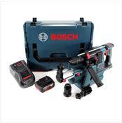 Bosch GBH 18V-26 F Akku Bohrhammer 18V 2,6J SDS-Plus in L-Boxx mit GDE 18V-16 Staubabsaugung, 1x 5Ah Akku und Ladegerät