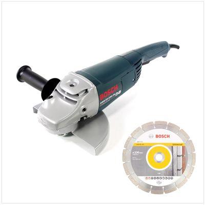 Bosch Professional GWS 22-230 JH Meuleuse angulaire 2200 W 230 mm + 1x Disques à tronçonner diamantés Bosch 230 mm Standard for Universal – Bild 2