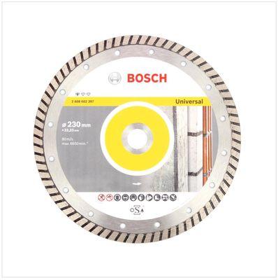 Bosch Professional GWS 22-230 JH 2200 W 230 mm Winkelschleifer + 1x Bosch Diamant Trennscheibe 230 mm Standard for Universal Turbo – Bild 4