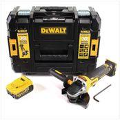 DeWalt DCG 406 18 V 125 mm Brushless Akku Winkelschleifer + 1 x 4 Ah Akku im TStak Werkzeugkoffer