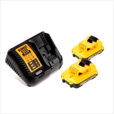 DeWalt Akku Starter Kit 10,8 V mit 2x DCB 127 2,0 Ah Akku und 1x DCB 115 Ladegerät – Bild 2