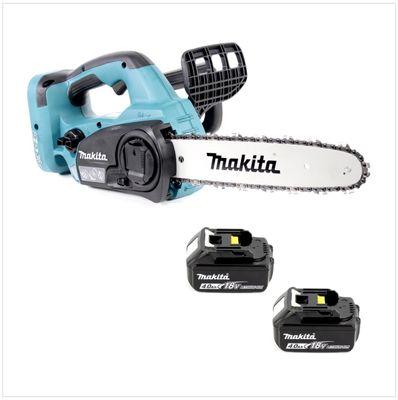 Makita DUC 302 M2 Akku Kettensäge 36V ( 2x18V ) 30 cm + 2x 4,0 Ah Akku - ohne Ladegerät – Bild 2