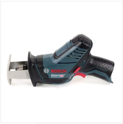 Bosch GSA 12V-14 Professional Akku Säbelsäge Solo im Karton mit Einlage + 15 tlg Tough Box Säbelsägeblätter Wood / Metal – Bild 3