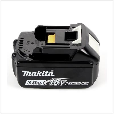 3x Batteries Makita BL 1830 B 18V - 3 Ah / 3000 mAh Li-Ion avec témoin de charge intégré – Bild 5