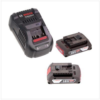 Bosch Professional GLI 18V-300 Lampe sans fil + 2x Batteries GBA 18 V 2,0 Ah + Chargeur rapide GAL 1880 – Bild 4