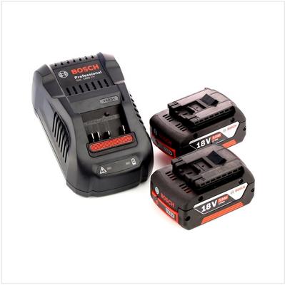 Bosch Professional GLI 18V-300 Lampe sans fil + 2x Batteries GBA 18 V 5,0 Ah + Chargeur GAL 1880 – Bild 4