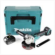 Makita DGA 504 F1J 18 V 125 mm brushless Akku Winkelschleifer im MAKPAC inkl. 1x BL 1830 B Akku - ohne Ladegerät