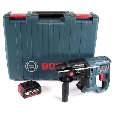 Bosch GBH 18V-20 Akku Bohrhammer 18V 1,7J SDS-Plus im Transportkoffer + 1x 5,0 Ah Akku - ohne Ladegerät – Bild 2