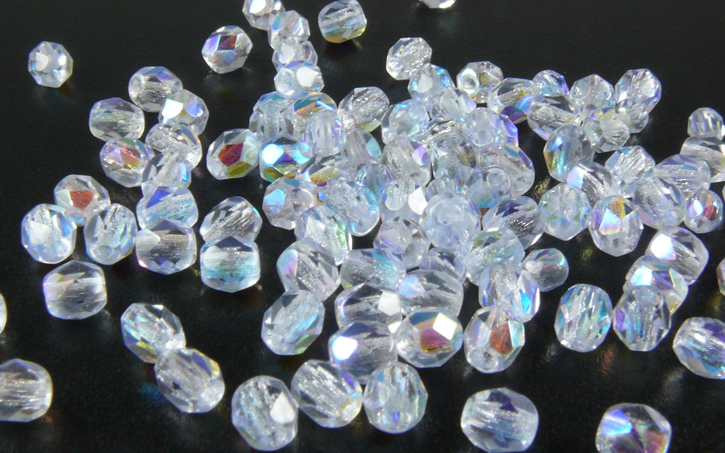 Glasschliffperlen