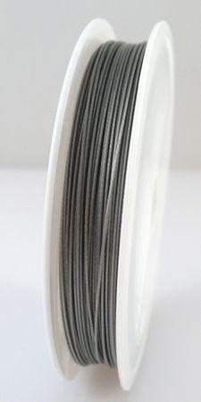 40m Schmuckdraht Basteldraht Ø 0,6mm altsilber Draht zum Basteln – Bild 2