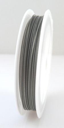 10m Schmuckdraht Basteldraht Ø 0,8mm altsilber nylonummantelt Draht – Bild 2