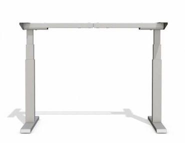 Elektrisch höhenverstellbarer Schreibtisch. T-Fuß-Tischgestell »TOP-ECO Neo V2.1« stufenlos einstellbar mit 2-stufigen Teleskophubsäulen und 2 Motoren. Dynamische Tragfähigkeit bis 80 kg. – Bild 16
