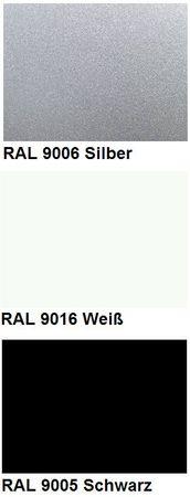 Kabelwanne Swing, Länge 1200 mm, in den Farben Silber, Schwarz und Weiß – Bild 4