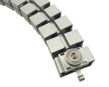 Magnet für Kabelkette Slim, in den Farben Silber, Schwarz und Weiß – Bild 3