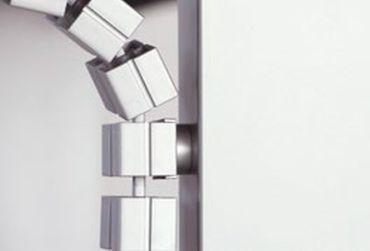 Magnet für Kabelkette Slim, in den Farben Silber, Schwarz und Weiß – Bild 1