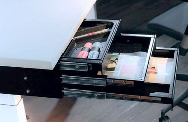 Schubladenbox TRI mit 3 Schuladen, Breite 347 mm, Tiefe 347 mm – Bild 4