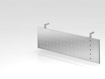 Sichtblende H=40cm, 120cm, Silber