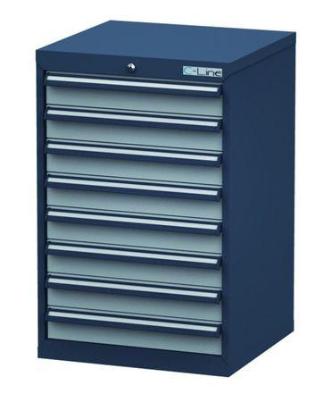 Schubladenschrank Höhe 920 mm, 8 Schubladen, CL6H090800