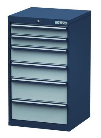 Schubladenschrank Höhe 1020 mm, 6 Schubladen, CL6H100222 – Bild 1