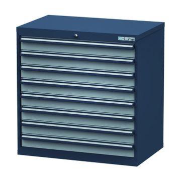 Schubladenschrank Höhe 920 mm, 8 Schubladen, CL9H090800