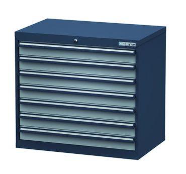 Schubladenschrank Höhe 820 mm, 7 Schubladen, CL9H080700 – Bild 1