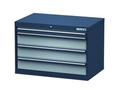 Schubladenschrank Höhe 620 mm, 4 Schubladen, CL9H061030 – Bild 1