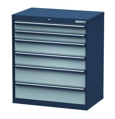Schubladenschrank Höhe 1020 mm, 6 Schubladen, CL9H100222 – Bild 1