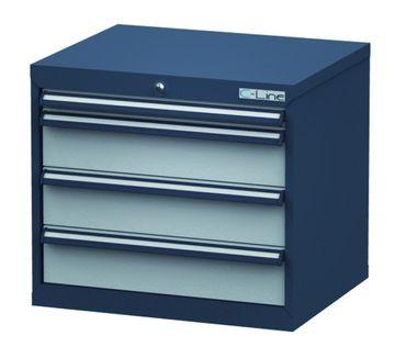 Schubladenschrank Höhe 620 mm, 4 Schubladen, CL7H061030 – Bild 1