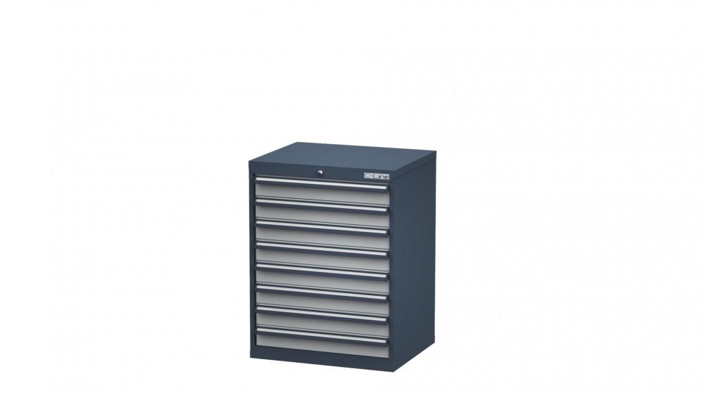Schubladenschrank Höhe 920 mm, 8 Schubladen, CL7H090800 ...