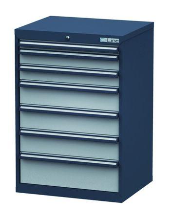 Schubladenschrank Höhe 1020 mm, 7 Schubladen, CL7H101231 – Bild 1